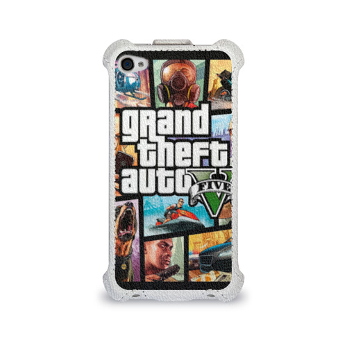 Чехол для Apple iPhone 4/4S flip GTA