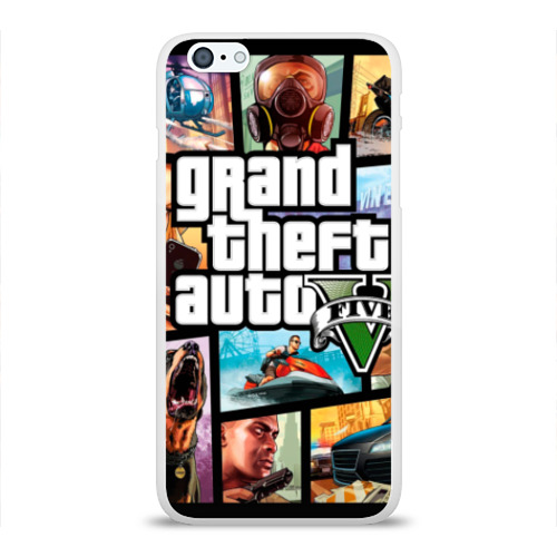 Чехол для Apple iPhone 6Plus/6SPlus силиконовый глянцевый GTA Фото 01