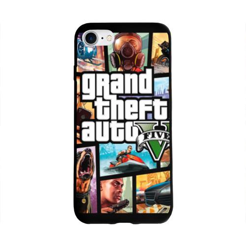 Чехол для Apple iPhone 8 силиконовый глянцевый GTA Фото 01