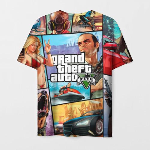 Мужская футболка 3D GTA Фото 01