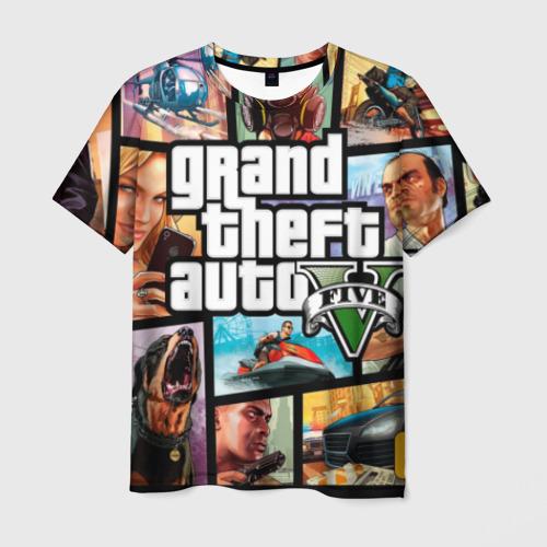 Мужская футболка 3D GTA от Всемайки