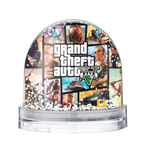 Водяной шар со снегом GTA