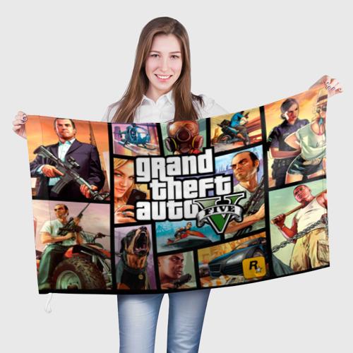 Флаг 3D GTA Фото 01