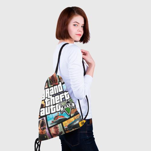 Рюкзак-мешок 3D GTA Фото 01