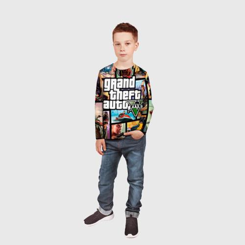 Детский лонгслив 3D  Фото 05, GTA