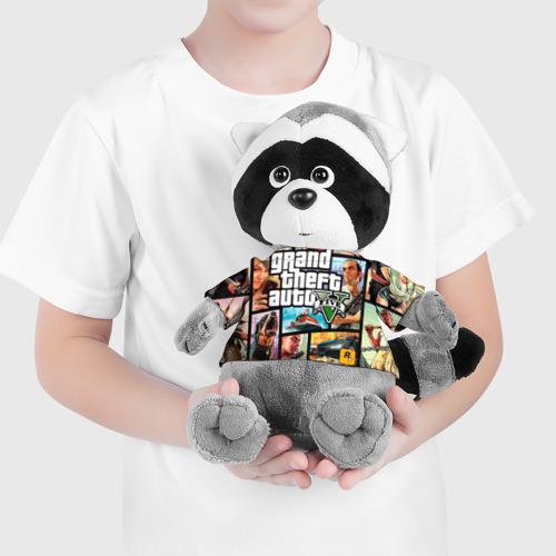 Енотик в футболке 3D GTA Фото 01