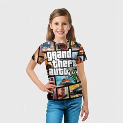 Детская футболка 3D GTA