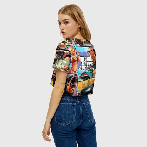 Женская футболка Cropp-top GTA Фото 01