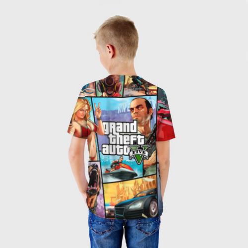 Детская футболка 3D GTA Фото 01