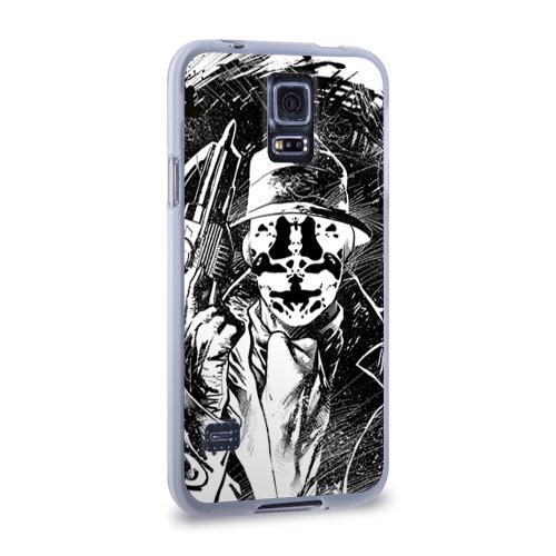 Чехол для Samsung Galaxy S5 силиконовый  Фото 02, Роршах