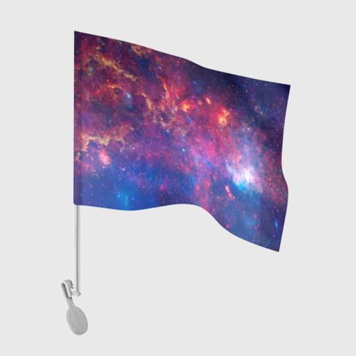 Флаг для автомобиля Космос Фото 01