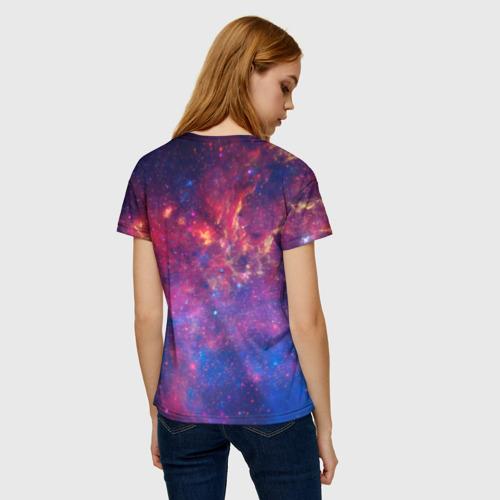 Женская футболка 3D Космос Фото 01