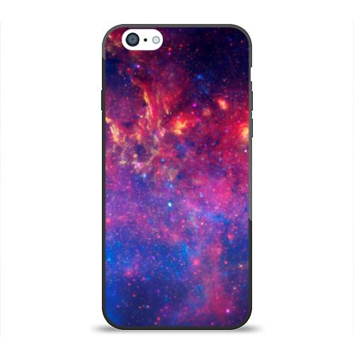 Чехол для Apple iPhone 6 силиконовый глянцевый Космос Фото 01