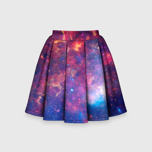 Детская юбка-солнце 3D Космос Фото 01