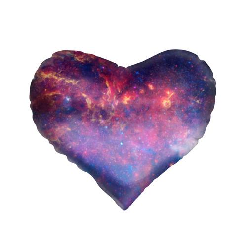 Подушка 3D сердце Космос