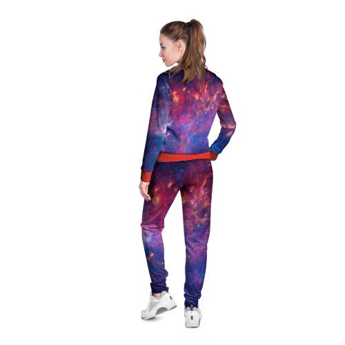 Женская олимпийка 3D Космос Фото 01