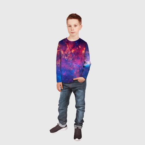 Детский лонгслив 3D Космос Фото 01