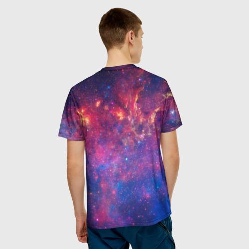 Мужская футболка 3D Космос Фото 01