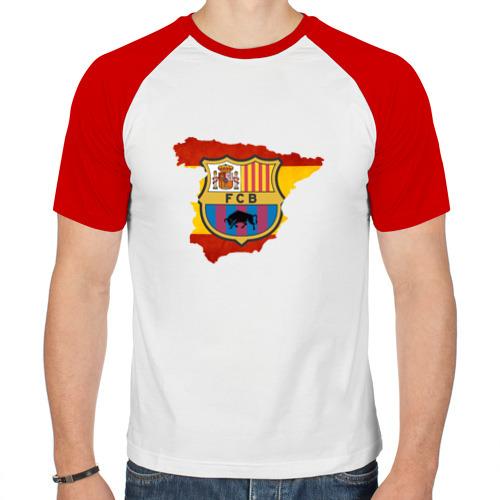 Мужская футболка реглан  Фото 01, Барселона