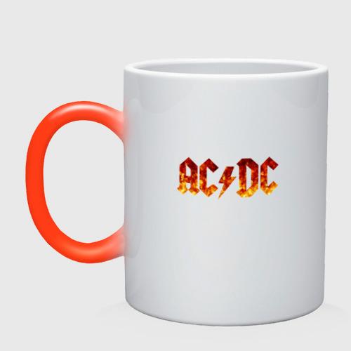 Кружка хамелеон AC/DC