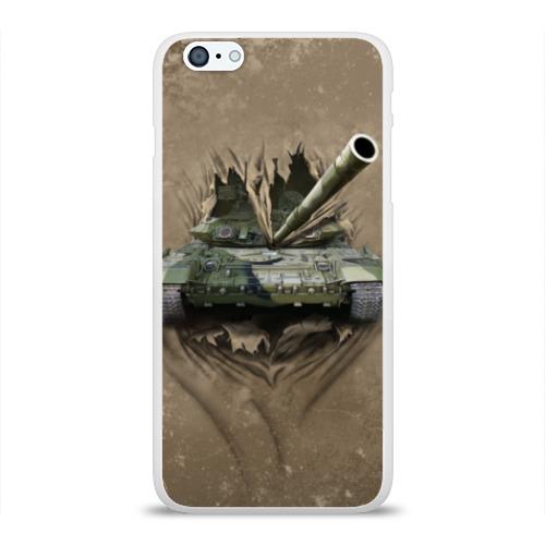 Чехол для iPhone 6Plus/6S Plus глянцевый Танк Фото 01
