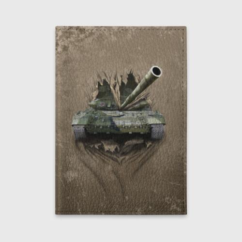 Обложка для автодокументов Танк Фото 01