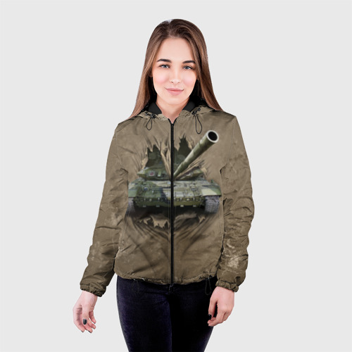 Женская куртка 3D Танк Фото 01