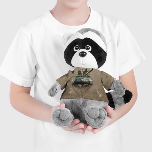 Енотик в футболке 3D Танк Фото 01