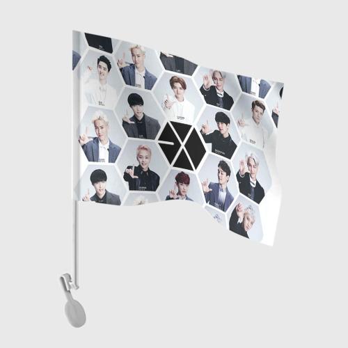 Флаг для автомобиля Exo Фото 01