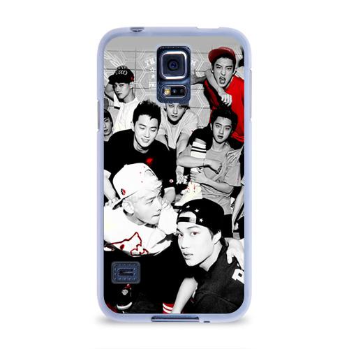 Чехол для Samsung Galaxy S5 силиконовый  Фото 01, Exo