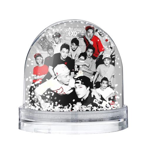 Водяной шар со снегом Exo