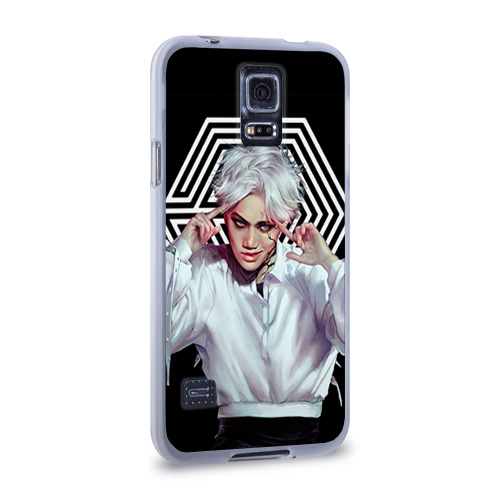 Чехол для Samsung Galaxy S5 силиконовый  Фото 02, Exo