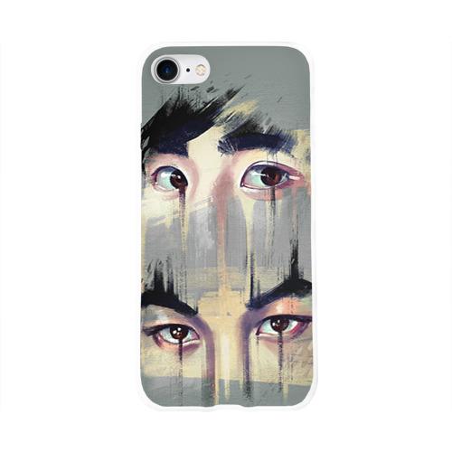 Чехол для Apple iPhone 8 силиконовый глянцевый  Фото 01, Exo