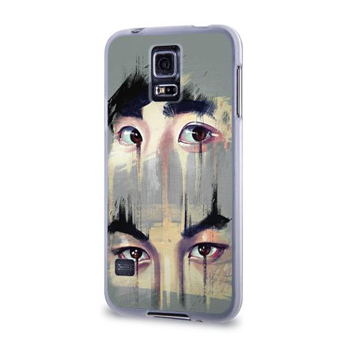 Чехол для Samsung Galaxy S5 силиконовый  Фото 03, Exo