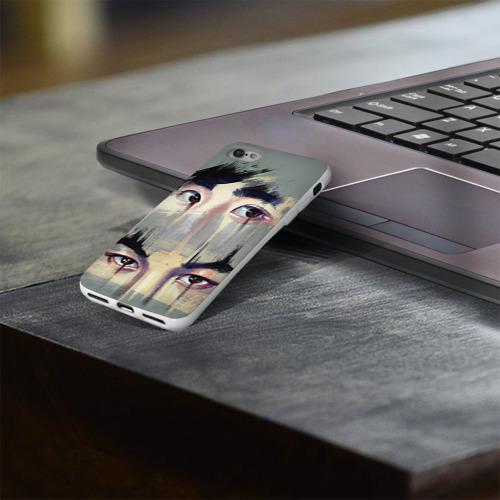 Чехол для Apple iPhone 8 силиконовый глянцевый  Фото 03, Exo
