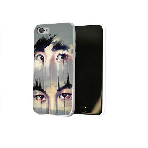 Чехол для Apple iPhone 8 силиконовый глянцевый  Фото 02, Exo