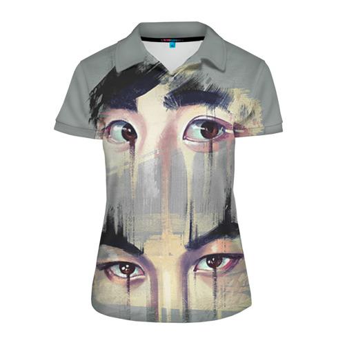 Женская рубашка поло 3D Exo