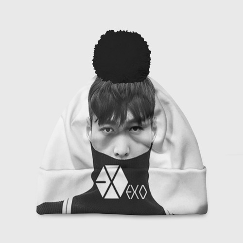 Шапка 3D c помпоном Exo