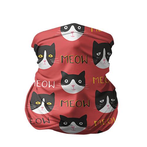 Бандана-труба 3D Meow