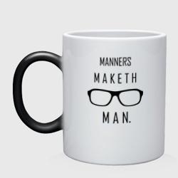 Kingsman Manners maketh man.