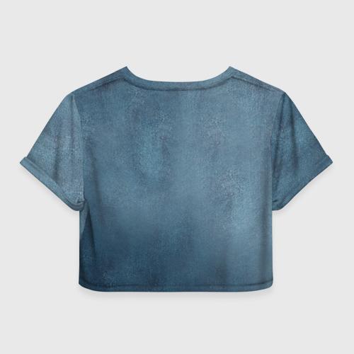 Женская футболка 3D укороченная  Фото 02, Руки