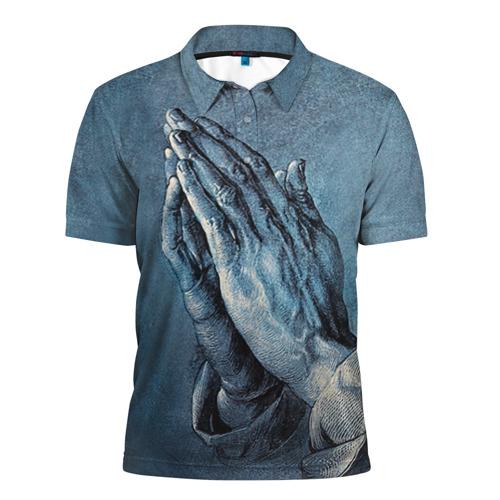 Мужская рубашка поло 3D Руки