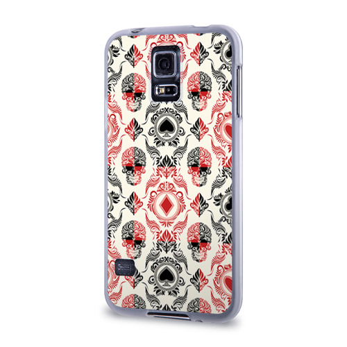 Чехол для Samsung Galaxy S5 силиконовый  Фото 03, Карточные масти