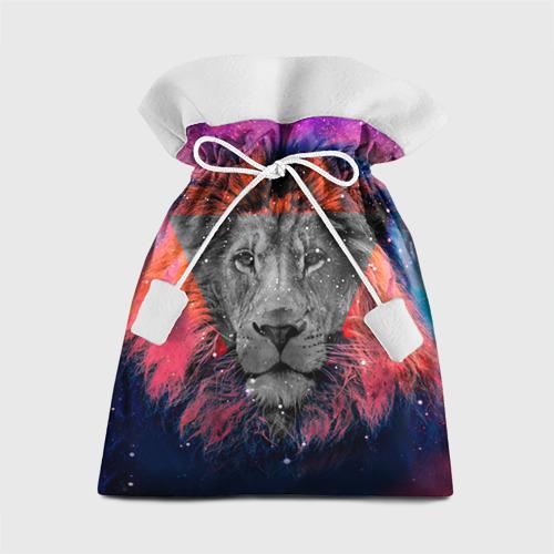 Подарочный 3D мешок Космический лев от Всемайки