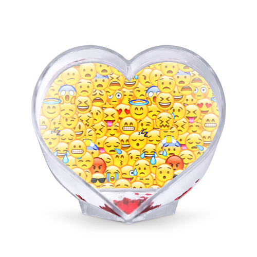Сувенир Сердце Emoji от Всемайки