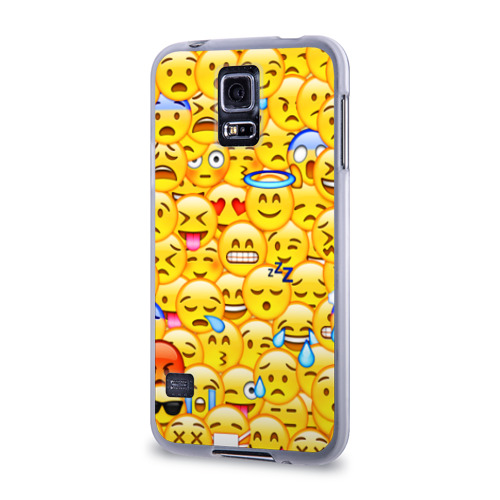 Чехол для Samsung Galaxy S5 силиконовый  Фото 03, Emoji