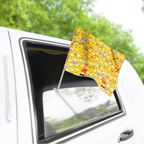 Флаг для автомобиля Emoji Фото 01