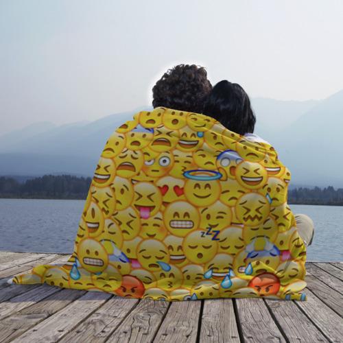 Плед 3D  Фото 02, Emoji