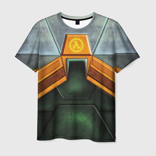 Мужская футболка 3D Костюм Гордона Фримена