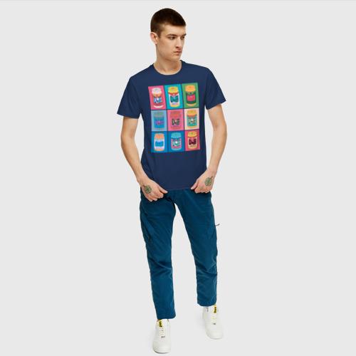 Мужская футболка хлопок DUFF POP Фото 01